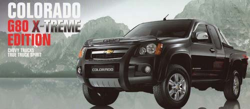 2009 chevy colorado x-treme limited edition thailand available at Jim Autos Thailand
