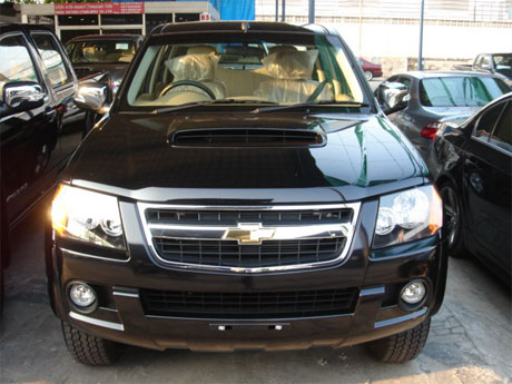 Chevy Colorado 2008 front - Get your Chevy now at Jim Autos Thailand and Jim 4x4 Thailand