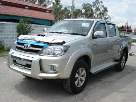 new Toyota Hilux Vigo Double Cab at Thailand's top Toyota Hilux Vigo dealer Jim Autos Thailand