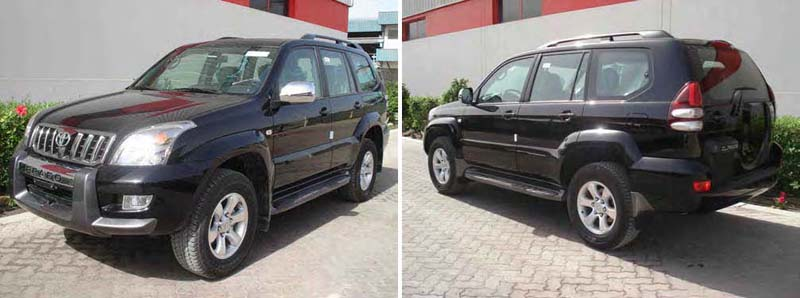 Toyota LHD Landcruiser Prado 120 from Dubai's and Thailand's top LHD exporter